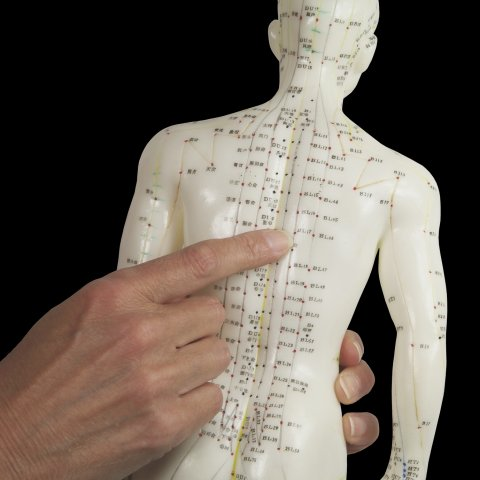 Acupuncture is done on specific points on the body, each point can have several health effects.